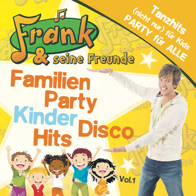 Frank & seine Freunde - Familien Party Kinder Disco Hits (CD)