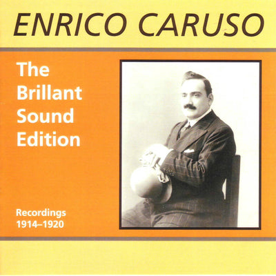 Enrico Caruso - The Brillant Sound Edition (Recordings 1914-1920) (CD) (5906920177817)