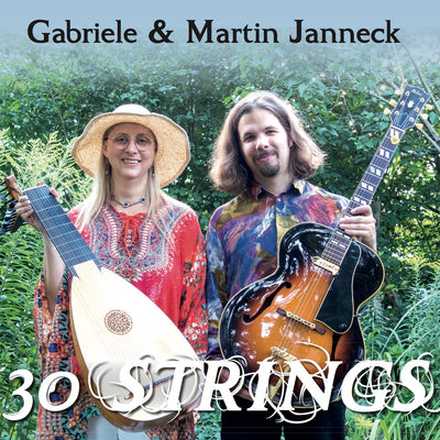 Gabriele & Martin Janneck - 30 Strings (CD) (5871781314713)