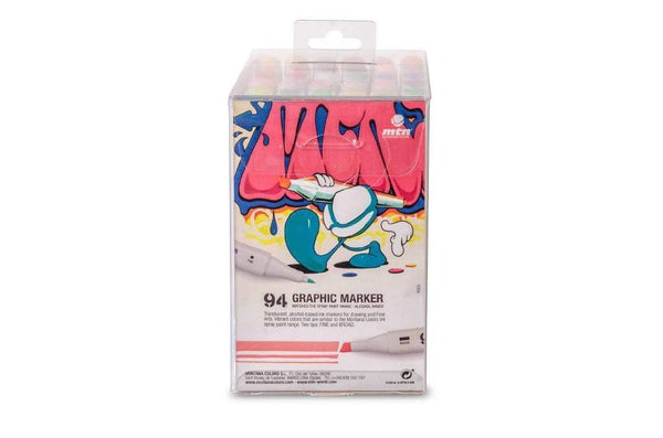 MTN 94 Graphic Marker Solid Colors Pack 36 MTN94
