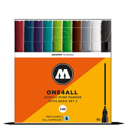 Molotow One4all 127HS - Basic Set 2 - 10 pack