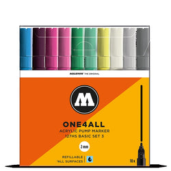 Molotow One4all 127HS - Basic Set 3 - 10 pack