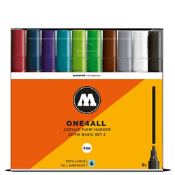 Molotow One4all 227HS - Basic Marker Set 2 - 10 pack