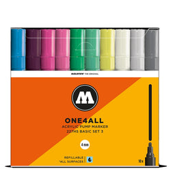Molotow One4all 227HS - Basic Set 3 - 10 pack