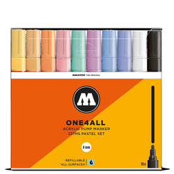 Molotow One4all 227HS - Pastel Marker Set - 10 pack