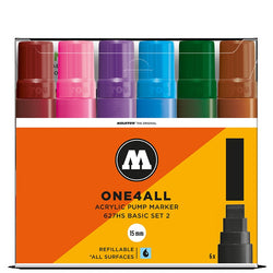 Molotow One4all 627HS - Basic Set 2 - 6 pack