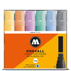 Molotow One4all 627HS - Pastel Marker Set - 6 pack