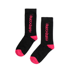 MTN Socks Black Hardcore