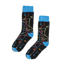 MTN Socks Black Metro