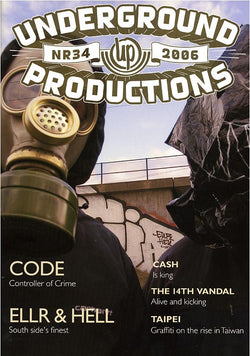 Underground Productions Graffiti Magazine - Issue 34