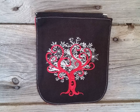 SMALL size tree of life flap