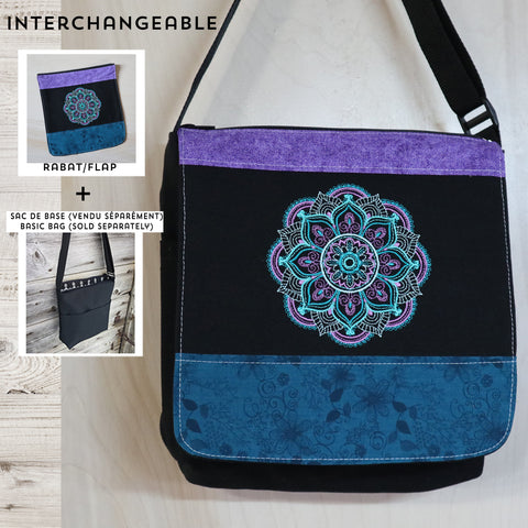 Mandala flap MEDIUM size