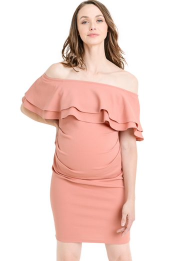 SWEET SUMMER MATERNITY DRESS (MAUVE)