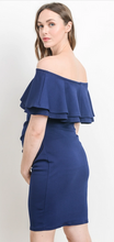 Load image into Gallery viewer, SWEET SUMMER MATERNITY DRESS (NAVY)