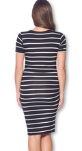 Load image into Gallery viewer, STYLIN' STRIPES BODYCON DRESS