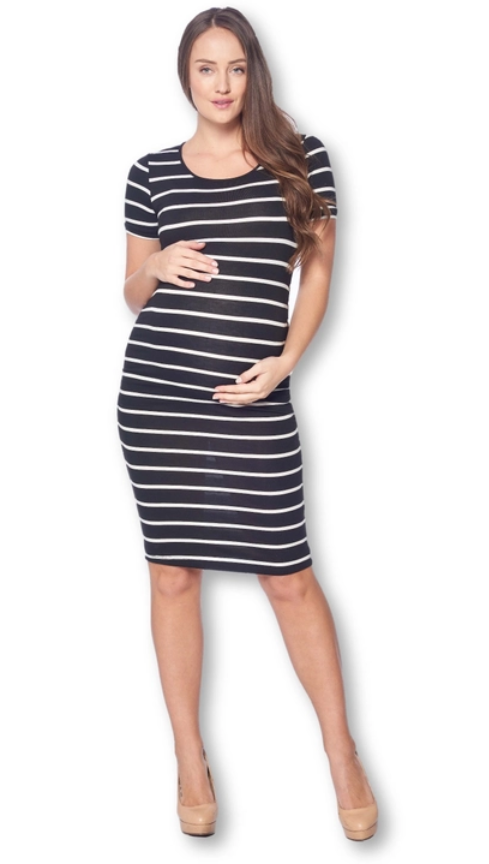 STYLIN' STRIPES BODYCON DRESS