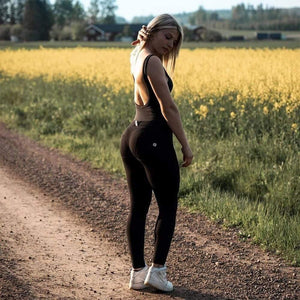 KingdomFiit Melody Black Leggings