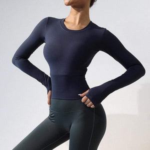 KingdomFiit Navy Blue / M / China Taurus Fitness Top