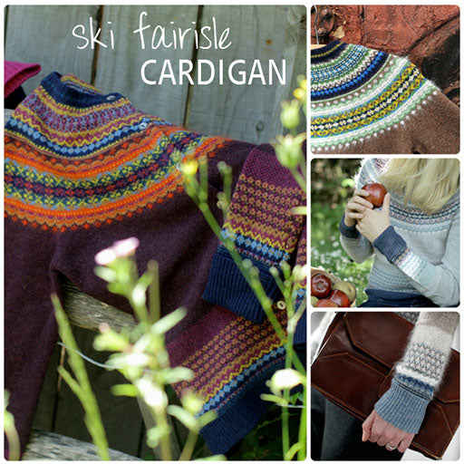 Spotlight on: Ski Fairisle Yoke Cardigan
