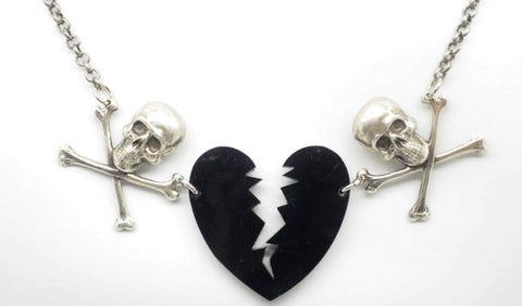 Broken Hearted Necklace