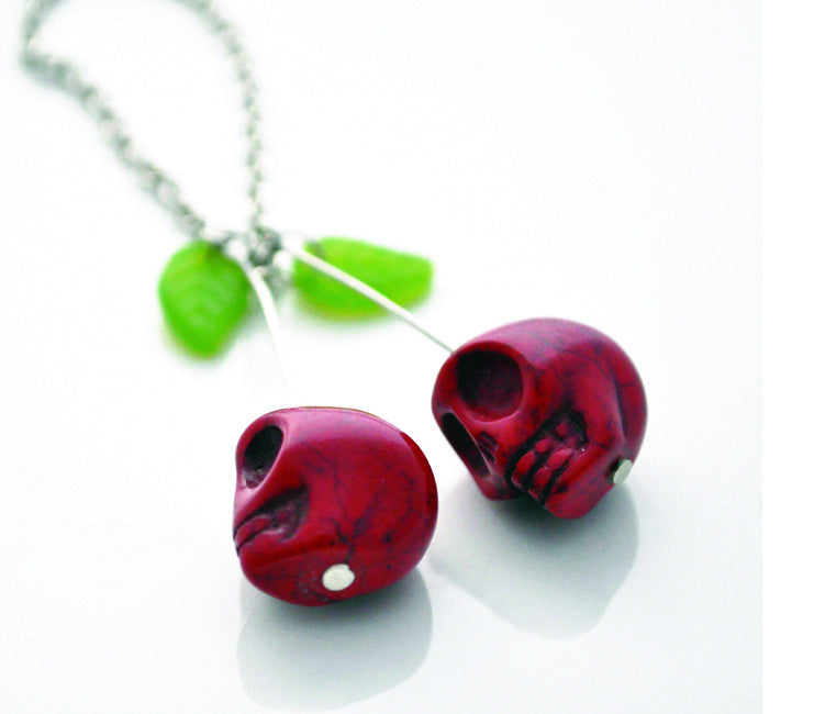 Evil Red Cherries / Skulls