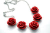Red Roses Necklace