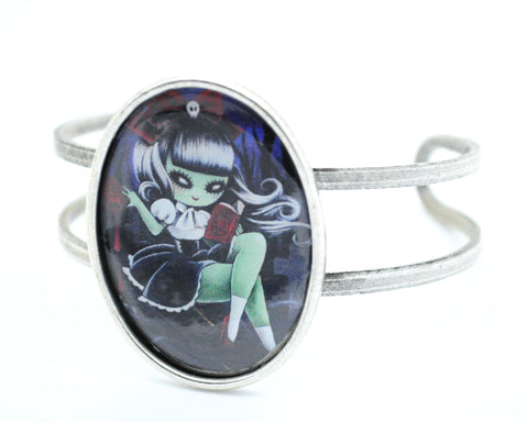 """Green Girl"" Knockout Bangle"