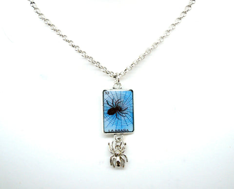 La Arana - Loteria Spider Necklace