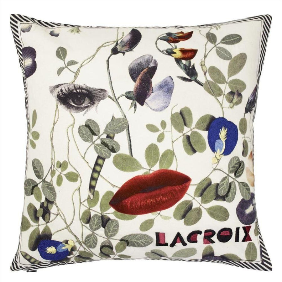 Dame Nature Printemps Cushion