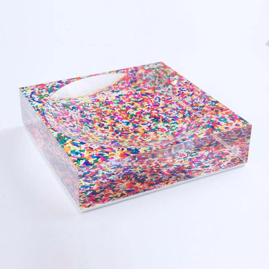 Sassy Sprinkle Candy Dish