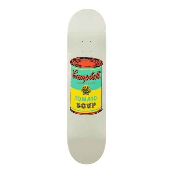 Andy Warhol – Colored Campbell's Soup Skate