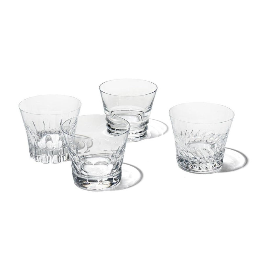 Dallas Assorted Tumblers, Set of 4