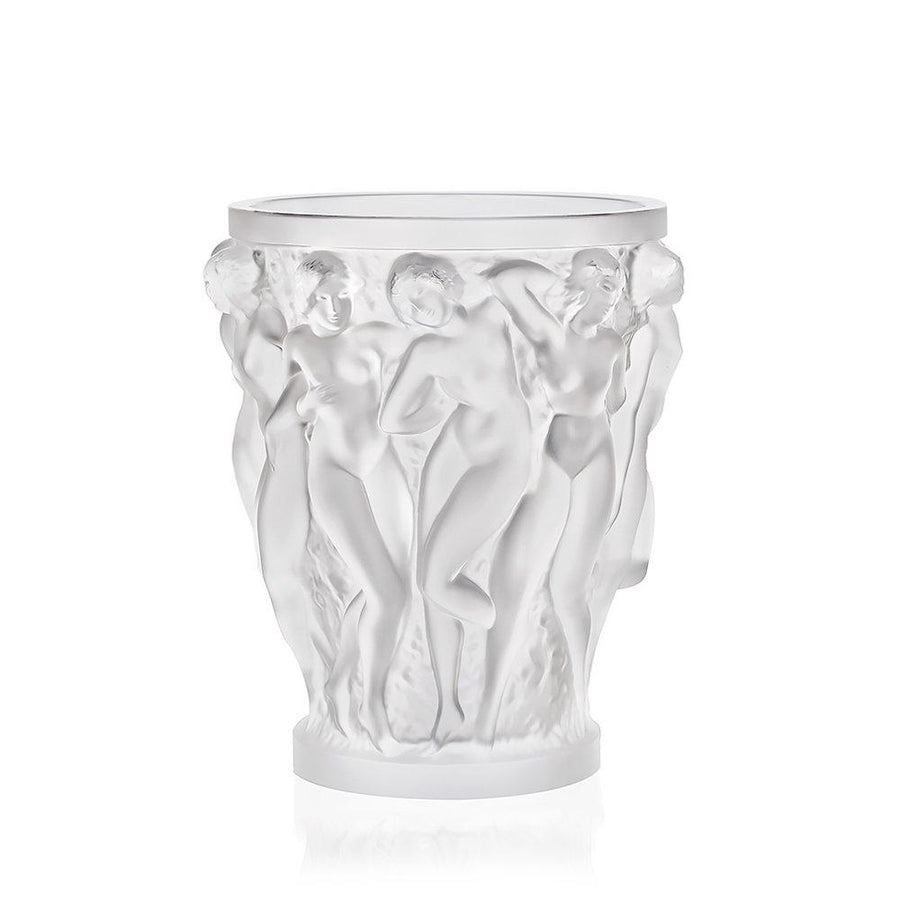 Bacchantes Clear Crystal Large Vase