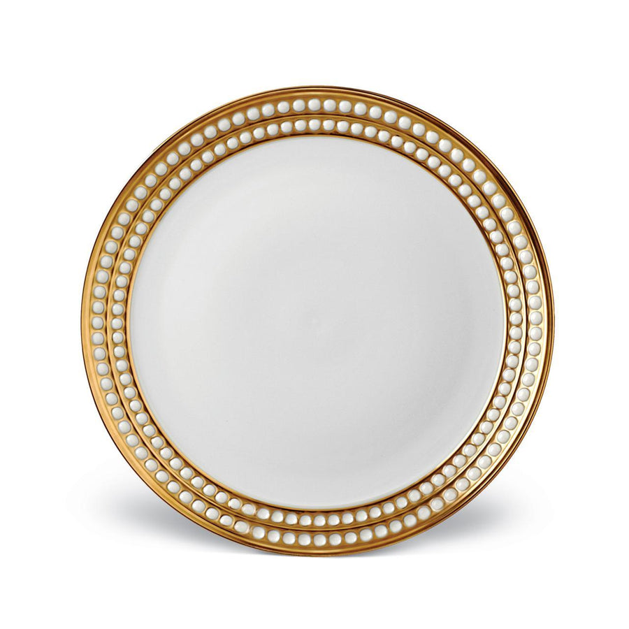 Perlee Dinner Plate Gold
