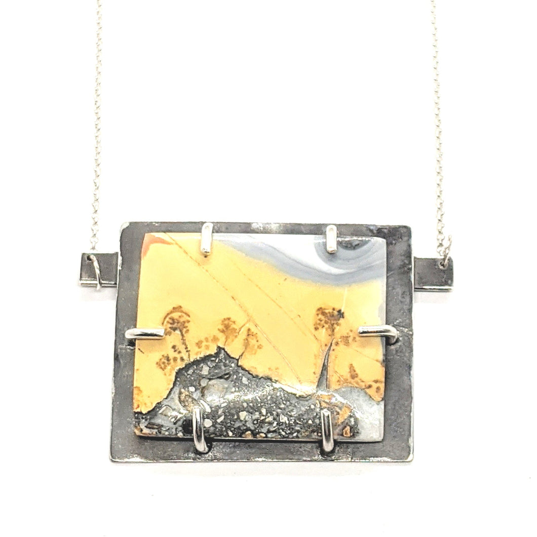 TRUFFULA TREES No. 1 (THE LORAX) - MALIGANO JASPER NECKLACE
