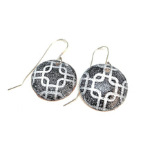 Load image into Gallery viewer, MOSAIC ENAMELED COPPER EARINGS