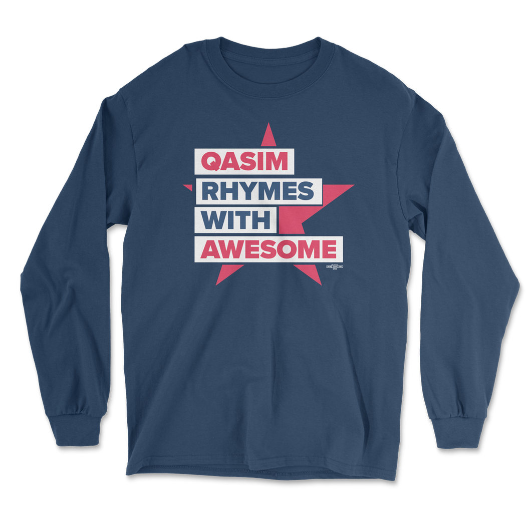 Qasim Awesome Long Sleeve Tee