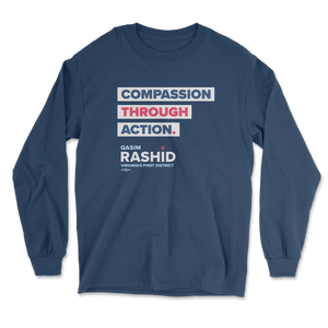 Compassion Through Action Long Sleeve Tee