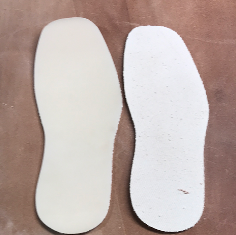 Diamond Back Full Soles & Heel