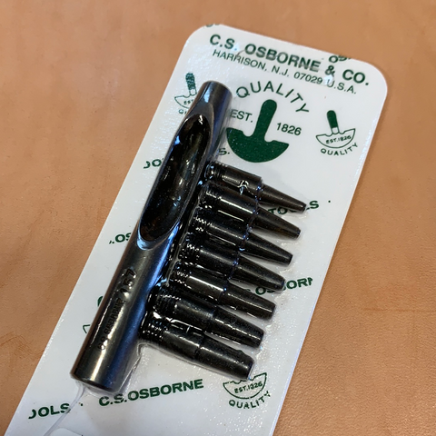 C.S. Osborne Mini Punch Set