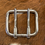 "2 1/2"" Double Tongue Stainless Steel Buckle"