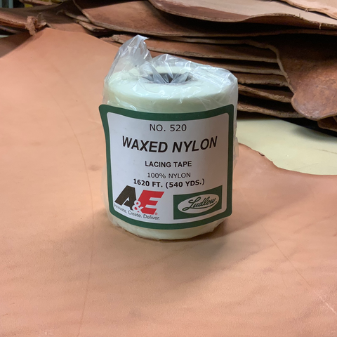 Waxed Lacing Tape 520