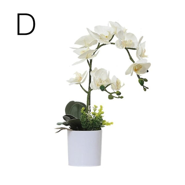 Phalaenopsis Bonsai Artificial Silk Flower
