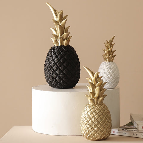 Nordic Resin Pineapple Ornaments