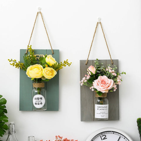 Hanging Artificial Flower Plant