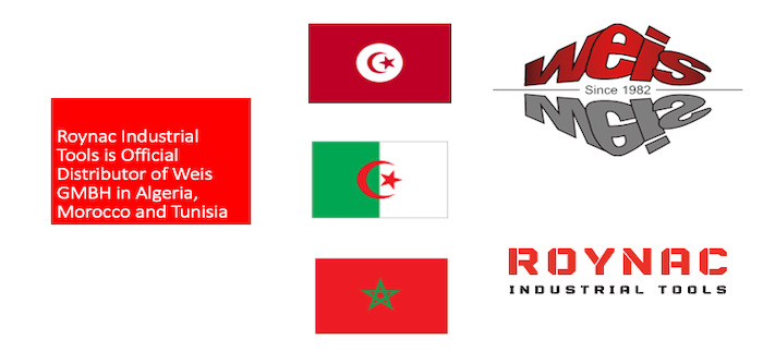 Weis GMBH Partners with Roynac Industrial Tools in Algeria, Morocco and Tunisia