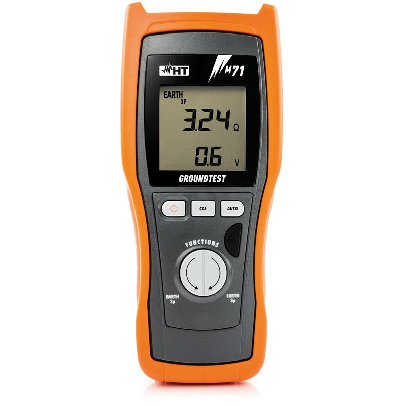 HT Instruments M71 Earth Resistance Tester