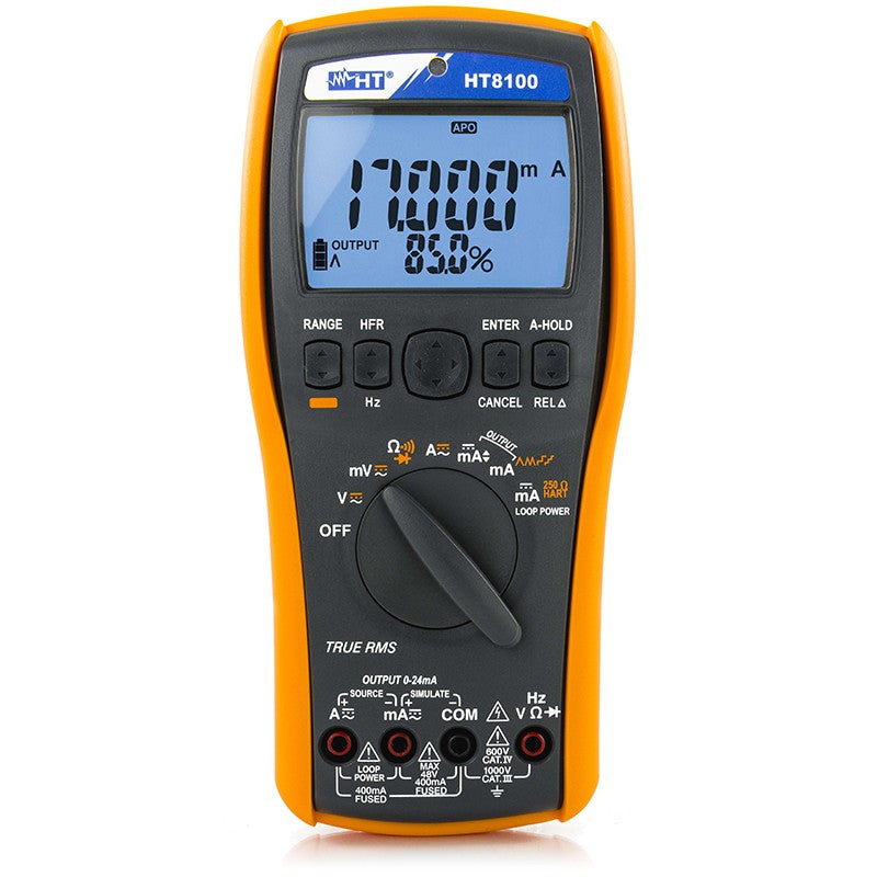 HT Instruments HT8100 Process Multimeter Calibrator