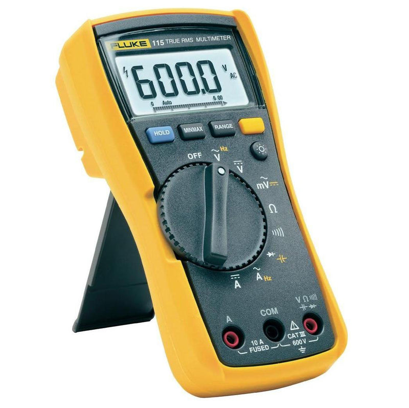Fluke 115 True Rms Field Service Multimeter 600VAC