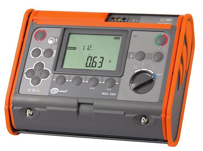 Sonel MZC-306 Loop Impedance Meter